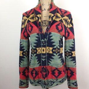 Ralph Lauren Southwestern Cotton Cardigan